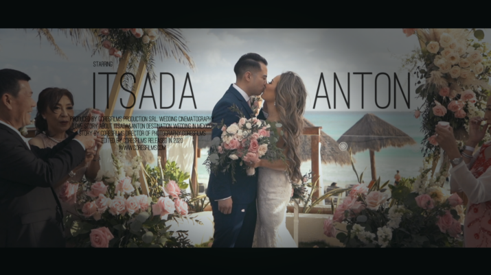 Itsada + Anton Cancun, Mexico Wedding